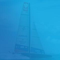 American Magic America's Cup Racing Yacht