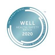 WELL health safety logo