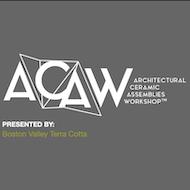 ACAW logo, square format
