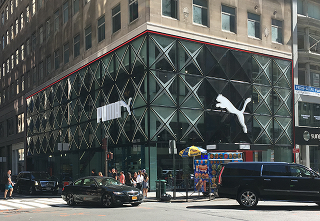 Fig 5 New Puma flaghip store on 5th Ave