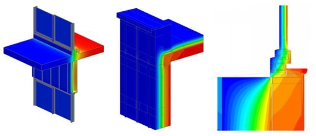 Thermal bridging images