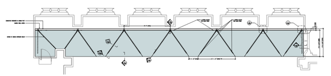 Figure 11 Canopy roof plan