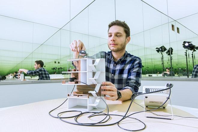 Lichtlabor an der Hochschule Augsburg