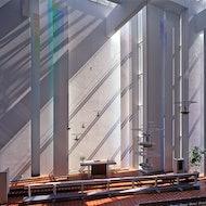 Mannisto Church Kuopio Finland by Juha Leiviska