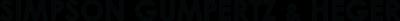 Simpson Gumpertz & Heger Logo