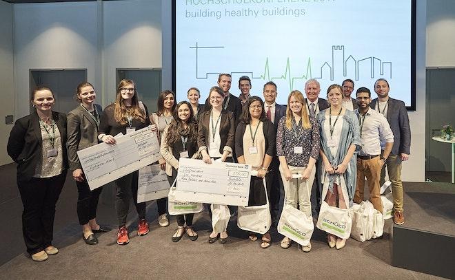 Building healthy buildings Phila U students
