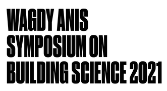 Abstracts Deadline: Wagdy Anis Symposium on Building Science 2021 Logo